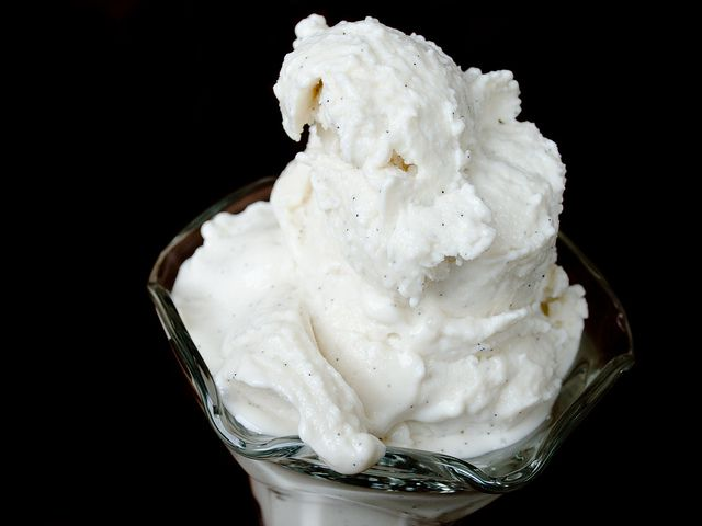Vanilla Bean Soft Serve