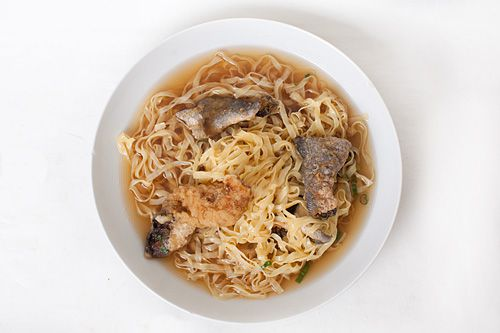 Noodles with Crispy Fish from Noodle Village