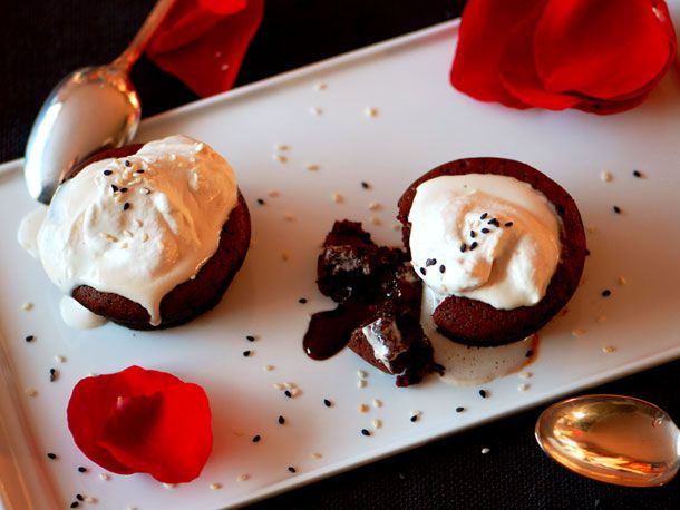 Chocolate Lava-Volcano-Molten Whatever Cakes