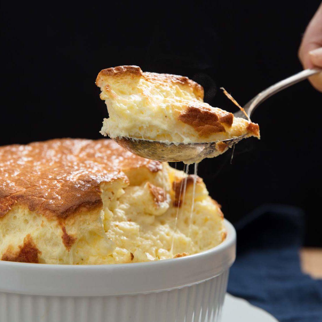 Savory Cheese Soufflé Recipe