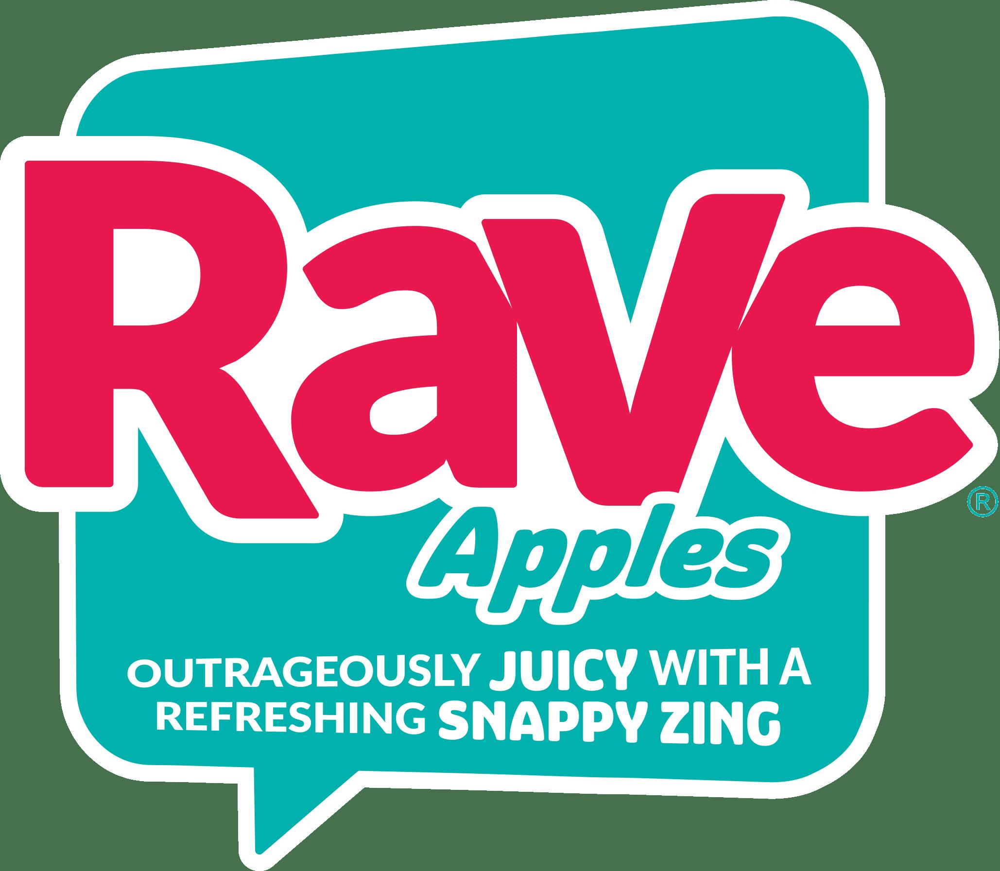 Rave Apples logo