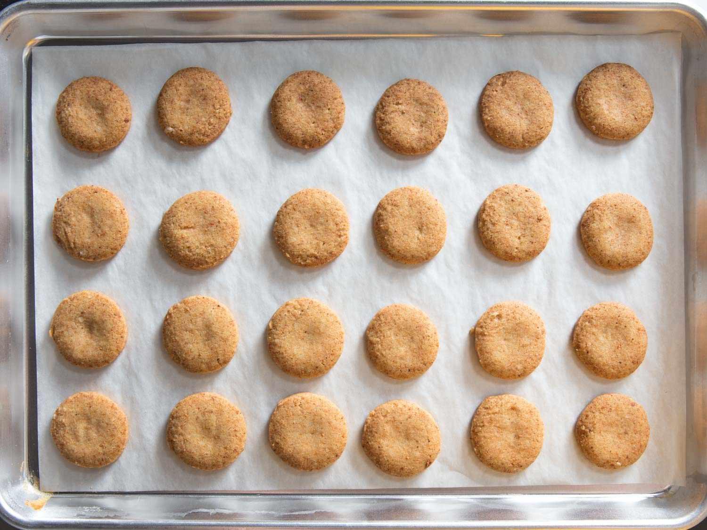 shortbread after baking