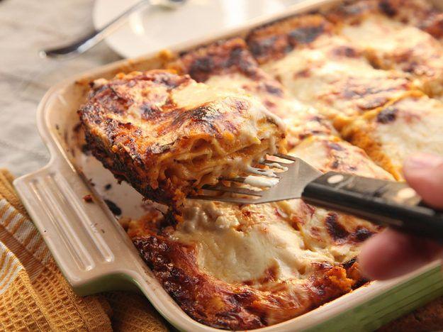 The Best Squash Lasagna