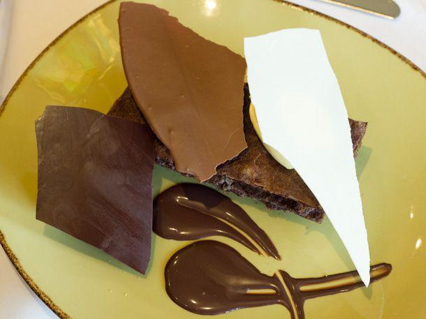 Nighttime Chocolate Dessert