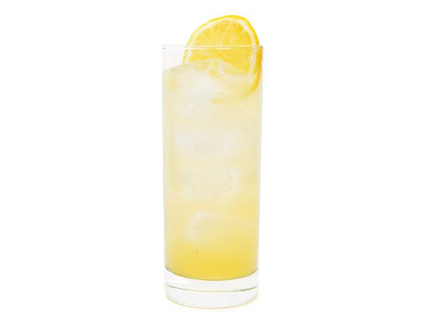 Meyer Lemon Tom Collins cocktail