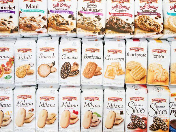 All of the Pepperidge Farm Cookies