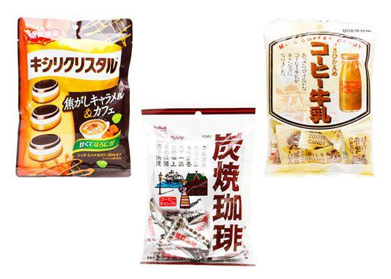 Japanese coffee candy
