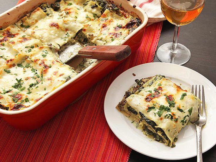 Ultra Creamy Spinach And Mushroom Lasagna Recipe