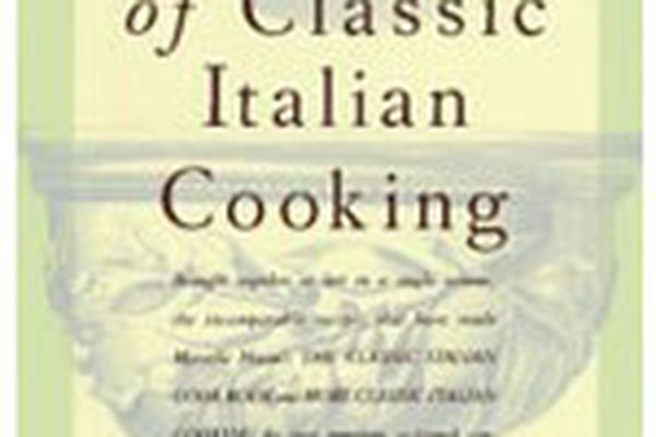 The cover of Essentials of Classic Italian Cooking by Marcella Hazan