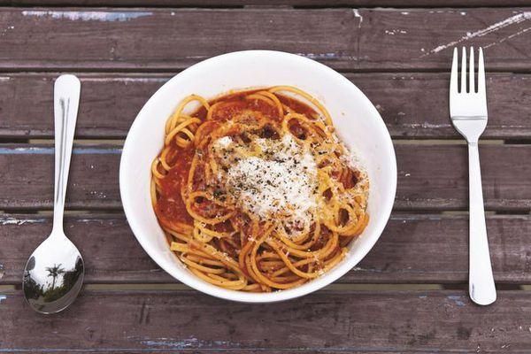 Roy Choi's Spaghetti