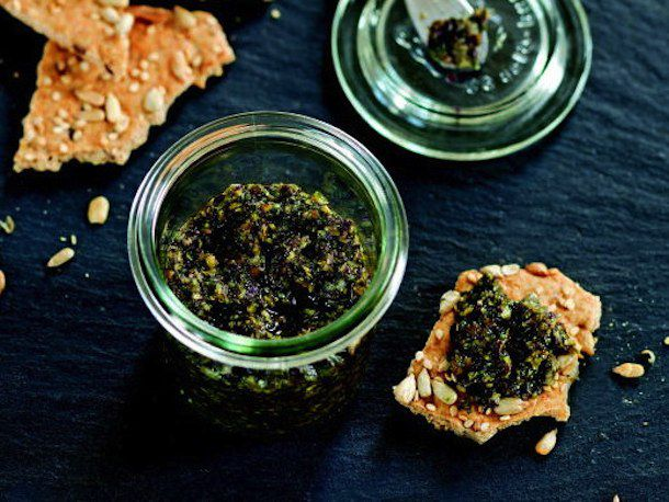 Seaweed Tartare from The French Market Cookbook