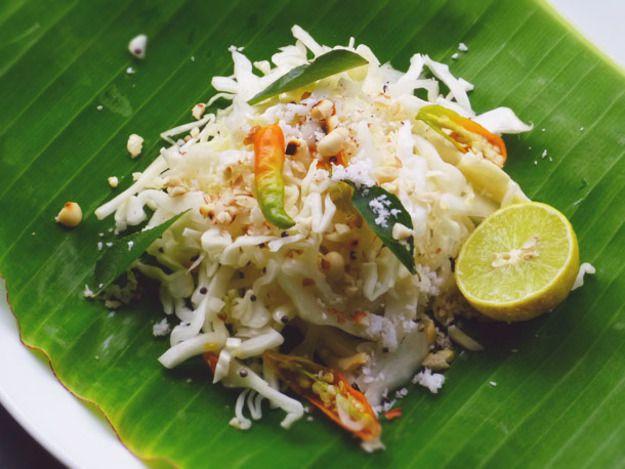 Indian Cabbage Salad