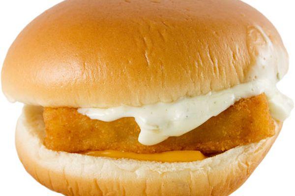 A McDonald's Filet-O-Fish Sandwich