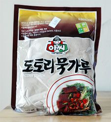 A bag of acorn starch.