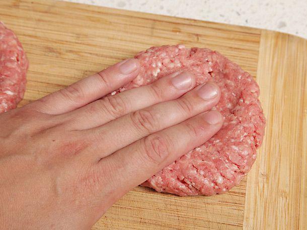 forming beef patties