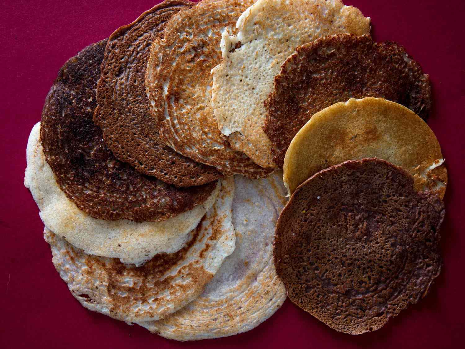 A variety of dosa