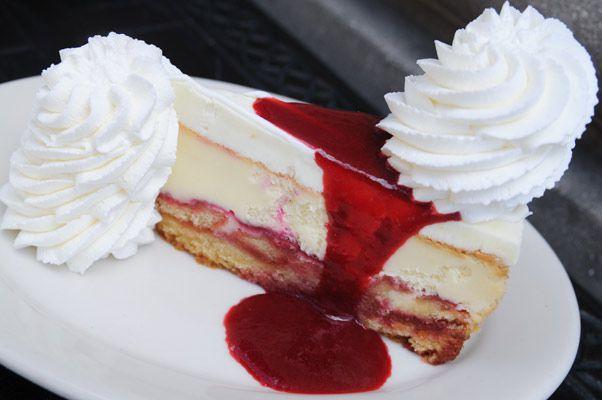 Lemon Raspberry Cream Cheesecake