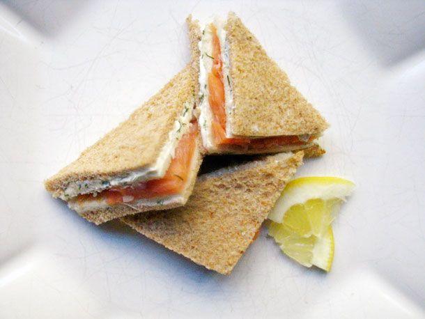 A tea sandwich