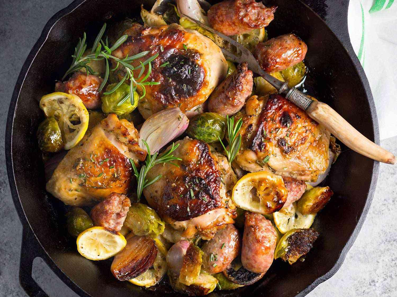 one pan chicken