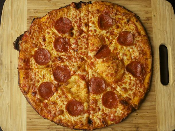 Crispy Bar-Style Pizza