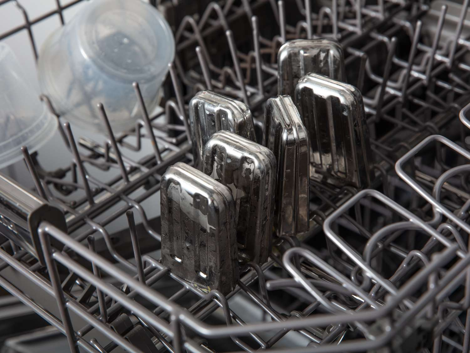 Popsicle molds in the dishwasher