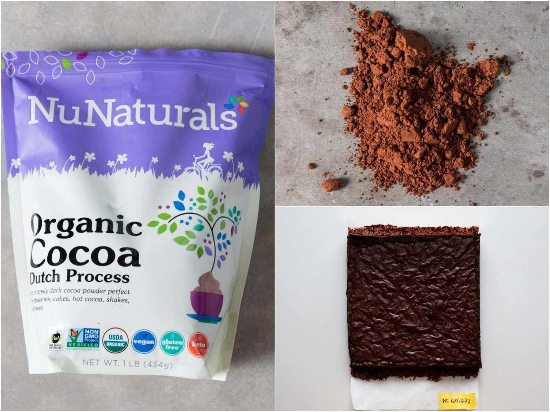 Nu Naturals Organic Cocoa, Dutch Process