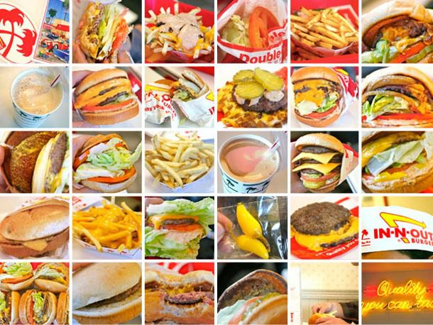In-N-Out burger composite