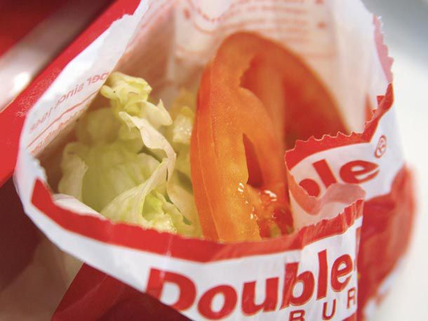 In-N-Out side salad