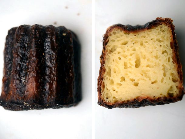 Canele from Bosie Tea Parlor