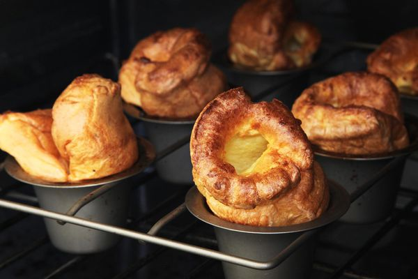 Popovers Yorkshire pudding