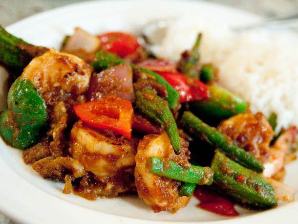 Shrimp sambal