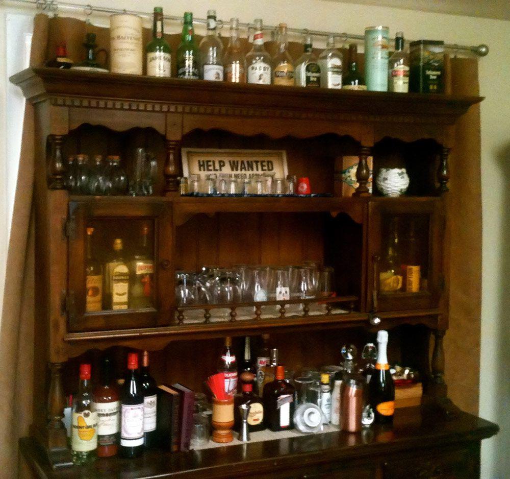 home cabinet bar