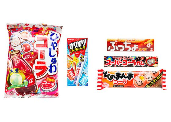 Japanese cola candy