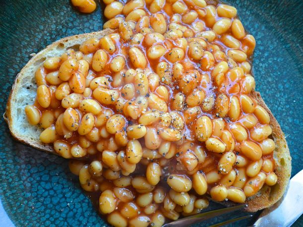 British-Style Beans on Toast Recipe