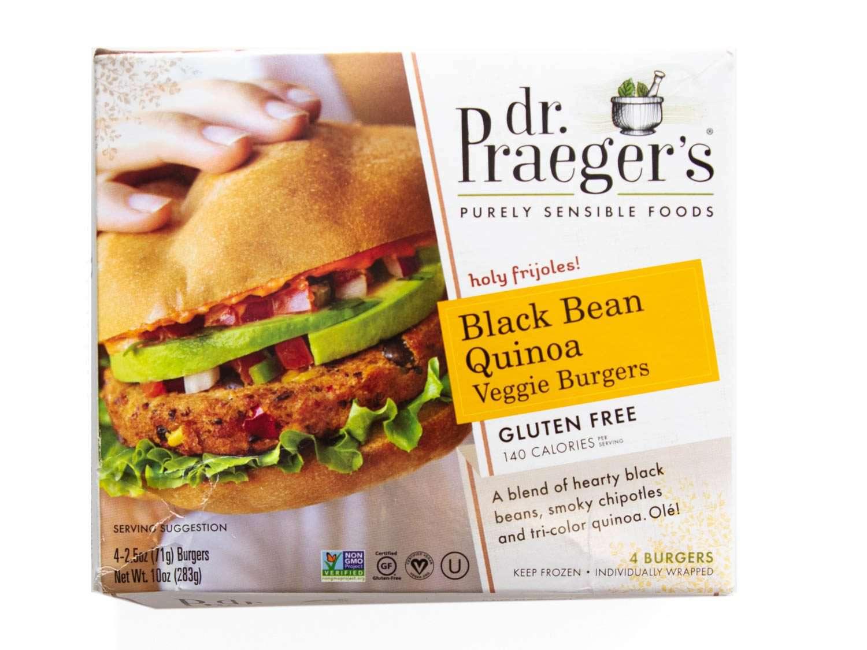 Product photo of Dr. Praeger's Black Bean Quinoa Veggie Burger