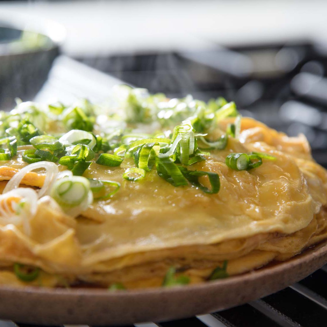 Chinese-Style Layered Omelette Recipe
