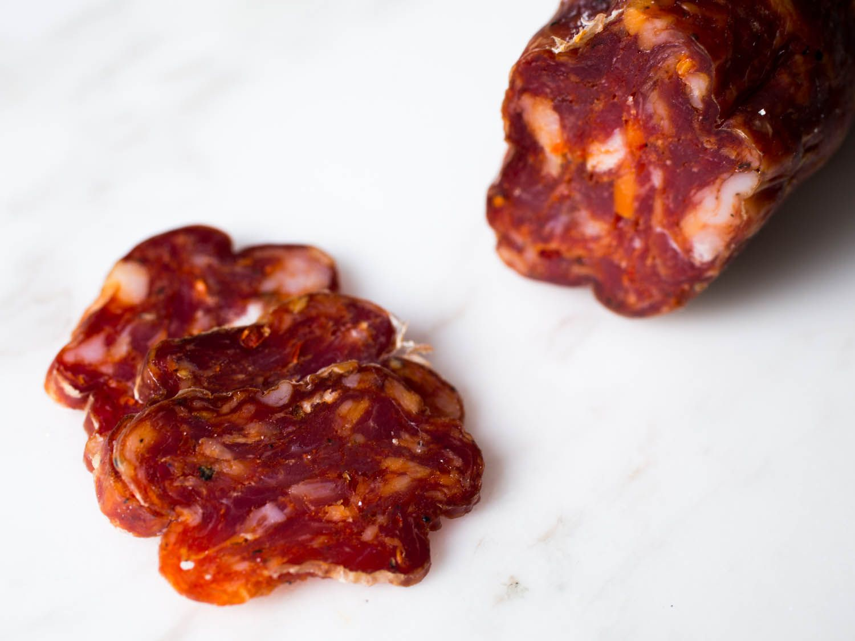20141223-salumi-taste-test-vicky-wasik-napolitana-hot-dry-sausage.jpg