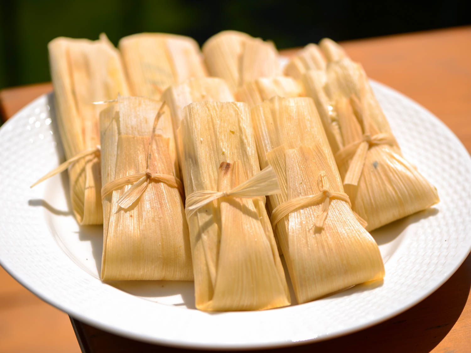 plate of tamales