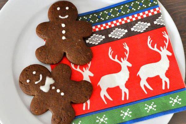 Candied Gingerbread Men