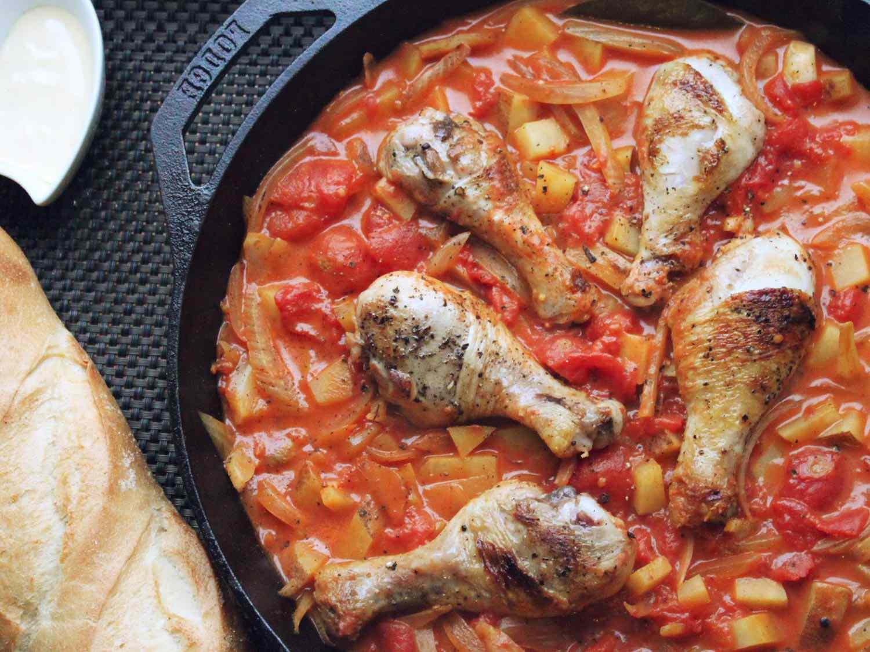 Easy One-Pot Chicken Bouillabaisse