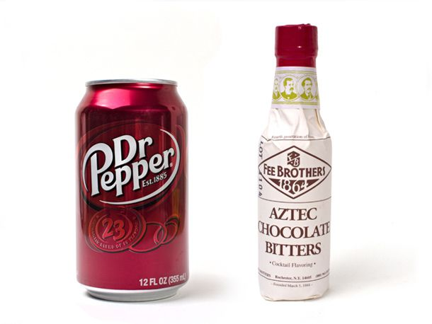 Dr Pepper and Chocolate Bitters