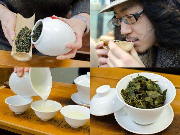 Part ritual, part tasting