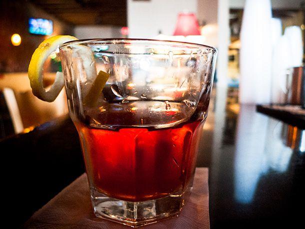 Resurrection Sazerac cocktail