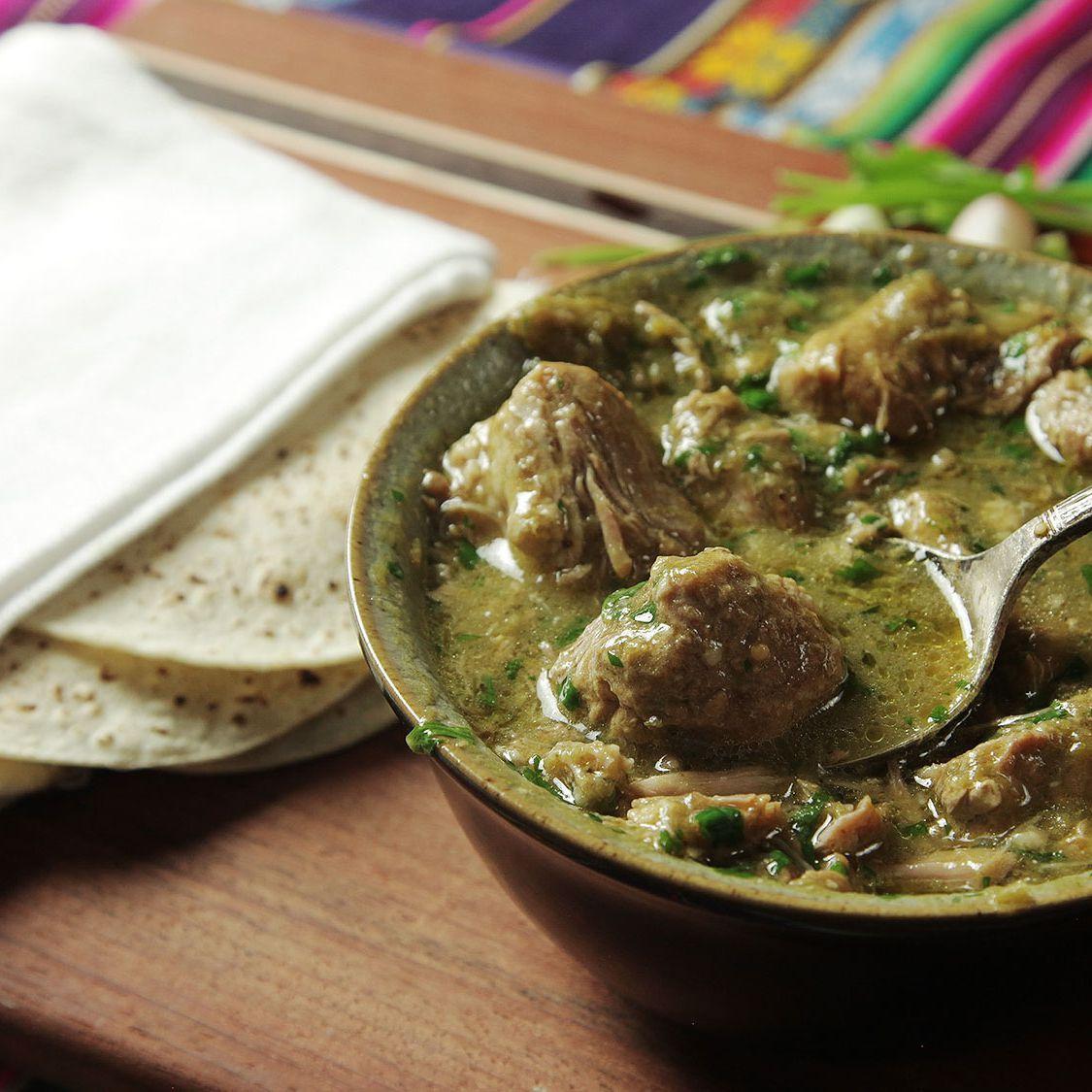 Easy Pressure Cooker Pork Chile Verde Recipe