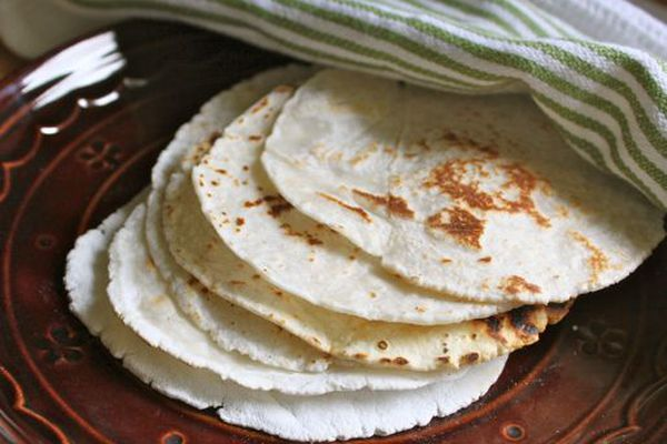 Finished tortillas!