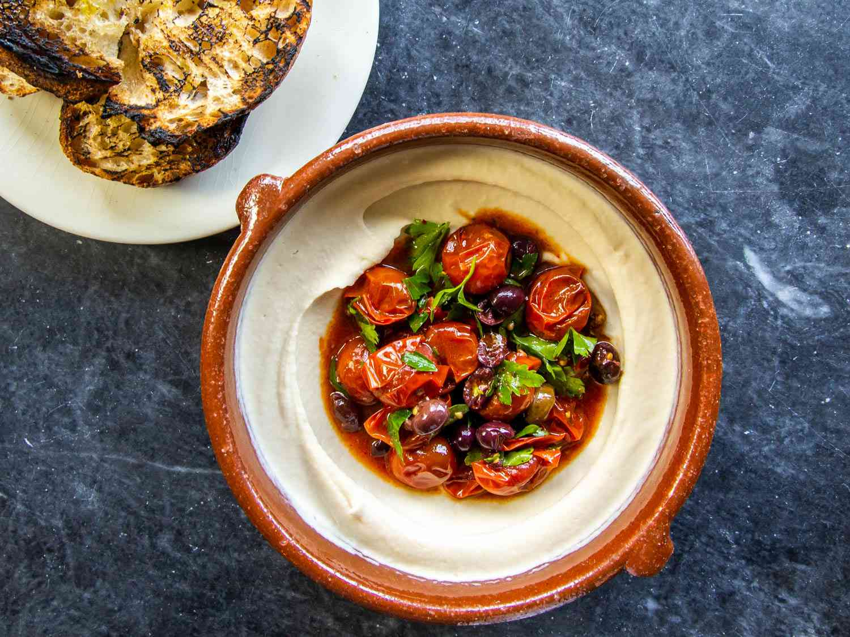 20200511-White-Bean-Dip-Puttanesca-Tomato-Salad-sasha-marx
