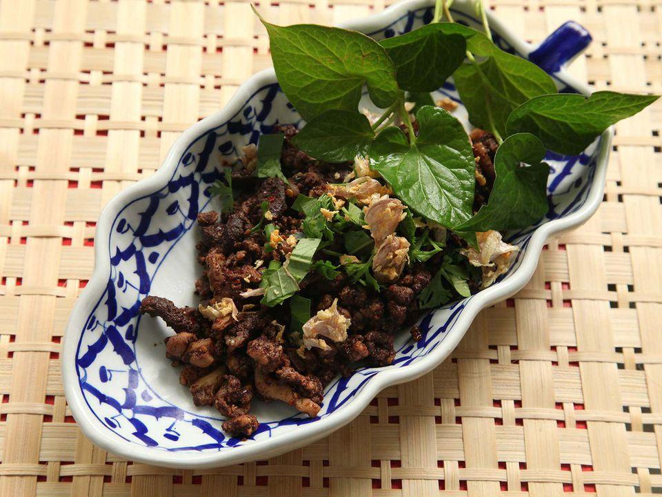 Larb Muang Moo (Northern Thai-Style Chopped Pork Salad)