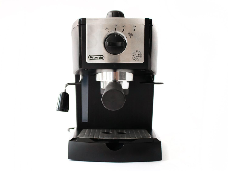 The DeLonghi EC155M espresso machine