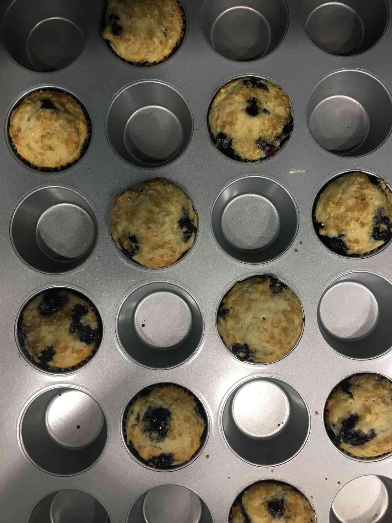 muffins in a tin