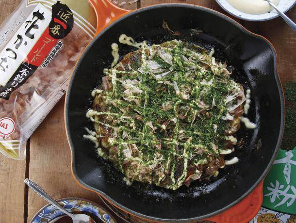 Osaka-Style Okonomiyaki